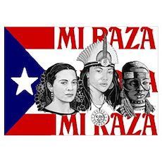 NEW!! MI RAZA (FOR WOMEN) Poster