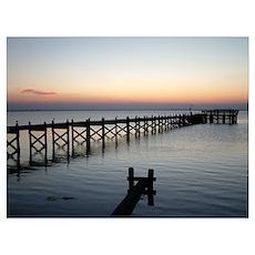 Barnegat Bay Sunset Poster