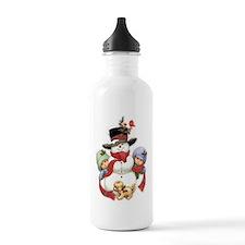 Snowman w/ Kids Water Bottle