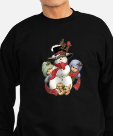 Snowman w/ Kids Sweatshirt (dark)
