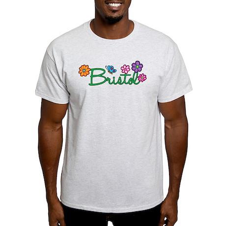 Bristol Flowers Light T-Shirt