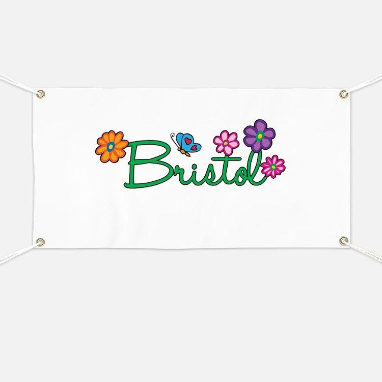 Bristol Flowers Banner