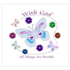 With God All Things Are Possible Poster