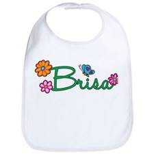 Brisa Flowers Bib