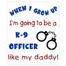 K9 Like Daddy Poster