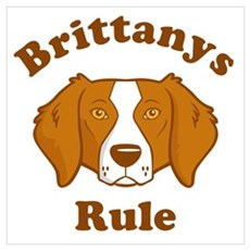 Brittanys Rule Framed Print
