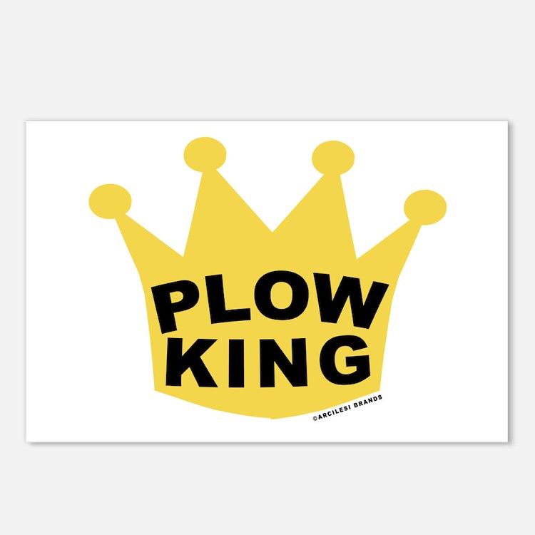 Plow King Postcards (Package of 8)