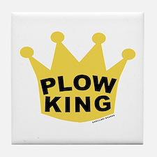 Plow King Tile Coaster