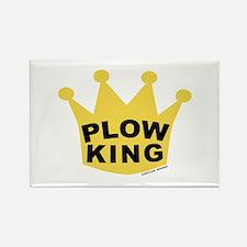 Plow King Rectangle Magnet