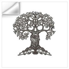 The Reading Tree Wall Decal