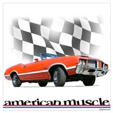 442 Ragtop Muscle Poster