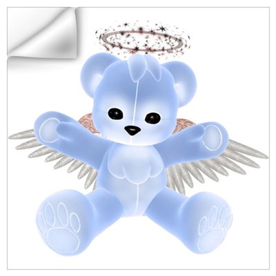 BLUE ANGEL BEAR Wall Decal