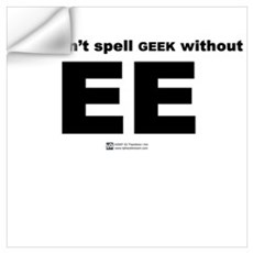 EE Geek Wall Decal