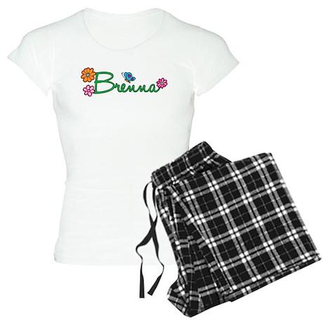 Brenna Flowers Women's Light Pajamas