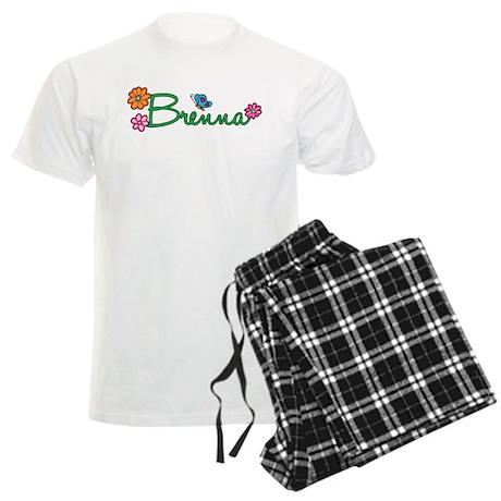 Brenna Flowers Men's Light Pajamas