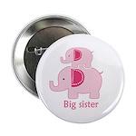 "Elephant Big Sister 2.25"" Button"