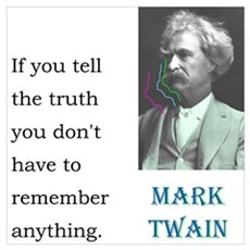 Twain Truth: Poster