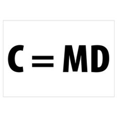 Med Student C=MD Canvas Art