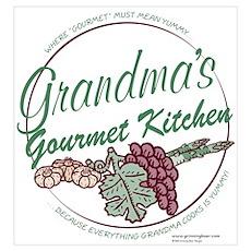 Grandma's Gourmet Kitchen P Poster