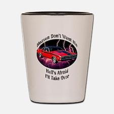 Dodge Challenger R/T Shot Glass