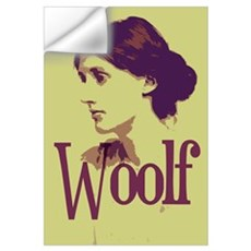 Virginia Woolf Wall Decal