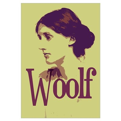 Virginia Woolf Poster