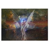 Angels kissing Wrapped Canvas Art