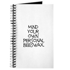 Personal Beeswax Journal
