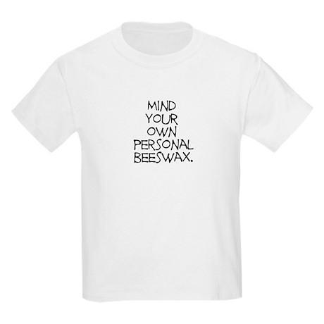 Personal Beeswax Kids Light T-Shirt