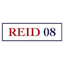 Reid 08 Bumper Bumper Sticker