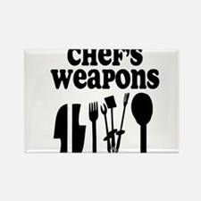 Chef's weapons 2 Rectangle Magnet