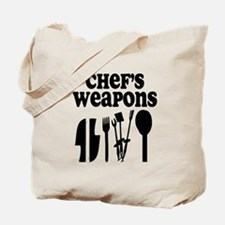 Chef's weapons 2 Tote Bag