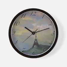 Eiffel Tower Wall Clock