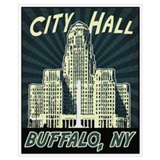 Buffalo City Hall Framed Print