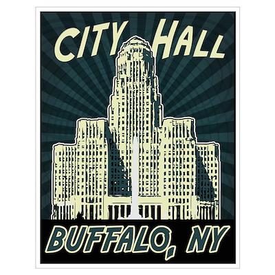 Buffalo City Hall Poster