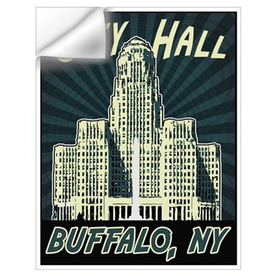 Buffalo City Hall Wall Decal