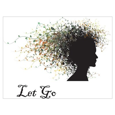 Let Go Canvas Art
