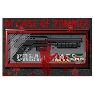 In Case Of Zombies Poster