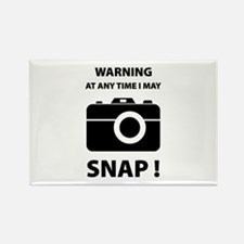 I May Snap Rectangle Magnet (100 pack)