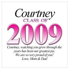 Courtney's Grad Gift Poster