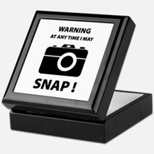 I May Snap Keepsake Box