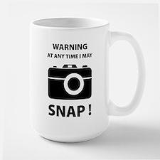 I May Snap Large Mug