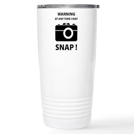 I May Snap Stainless Steel Travel Mug