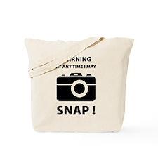 I May Snap Tote Bag