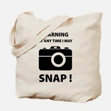I May Snap Tote Bag