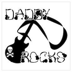 DADDY ROCKS! Poster