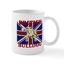 Cute Union jack bulldog Mug