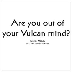 Ar you out of your Vulcan min Poster