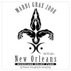 Mardi Gras 2008 Poster