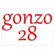 Gonzo 28 Poster